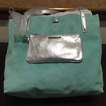 Tiffany & Co. Reversible Tote Bag Large  Blue Photo