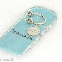 Tiffany & Co. Round Tag Large Key Ring in Sterling Silver m.l.p. Photo