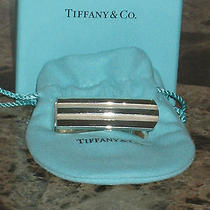 Tiffany & Co. Sterling Silver Atlas Grooved Moneyclip Photo
