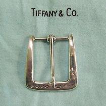 Tiffany & Co. Sterling Silver Belt Buckle Photo
