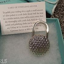 Tiffany & Co Sterling Silver Golf Ball Keychain Photo