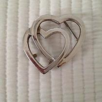 Tiffany & Co. Sterling Silver Heart Belt Buckle Photo