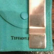 Tiffany & Co Sterling Silver Money Clip Photo