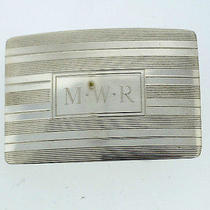 Tiffany & Co. t&co 925 Sterling Silver Buckle Stamped Original  Photo