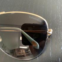 Tiffany & Co. Tf 3021 6084/t5 Polarized Gold Aviator Sunglasses 60-14 135 Italy Photo