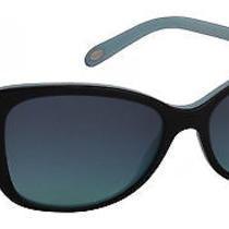 Tiffany & Co Women's Sunglasses Tf4103hb 56mm Black Blue 80559s Photo