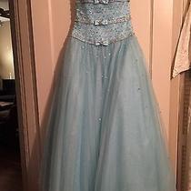 Tiffany Designs Prom Dress Size 4 Photo