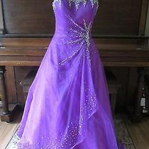 Tiffany Designs Prom/pageant Dress Size 10 Photo