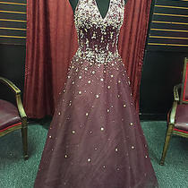Tiffany Designs  Prom  Pageant  Evening  Gown  Dress   Photo