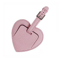 Tiffany Heart Name Tag Leather (New) Photo