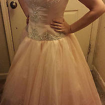 Tiffany Pink Princess Prom Dress Photo