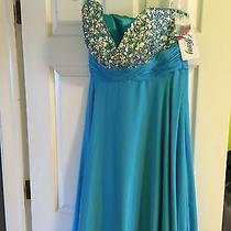 Tiffany Prom Dress Size 12 Photo