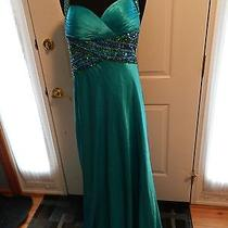 Tiffany Prom-Teal-Size 2 Photo