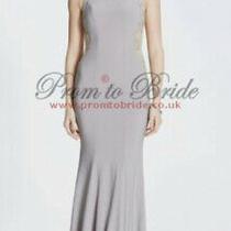 Tiffanys Mila Stone Long Evening Backless Prom Dress Size 12 Bnwt Photo