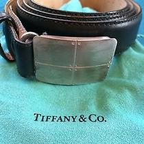 Tiffany Sterling Silver Steamamerica Belt for Man or Woman Photo