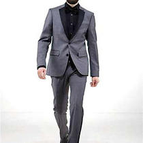 Tiger of Sweden New Bates Grey Black Tuxedo Tux Suit Label 50 Rrp 539 Bnwt Apc Photo