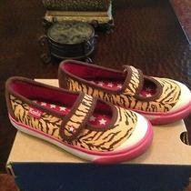 Tiger Print Mj Childrens Keds Photo