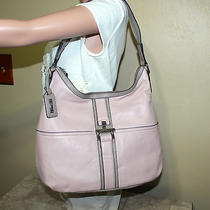 Tignanello Glove Leather Colorblock Hobo With