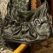 Tignanello Hobo Shoulder Bag Belt Detail Front Cell-Phone Pocket Photo