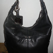 Tignanello Leather Hobo Bag Shoulder Bag Purse  Photo