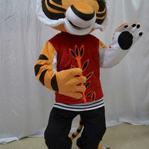 Tigress Tiger Kung Fu Panda Mascot Costume Fancy Party Halloween Dres Adult Size Photo