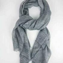 Tilo Twilight Scarf Gray With Silver Sequins Rv 98 Popsugar Must Have Box Dec Photo