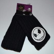 Tim Burton Nightmare Before Christmas Hand Warmers Fingerless Gloves Jack  Photo