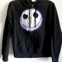 Tim Burton's Disney the Nightmare Before Christmas Jack Skelington Hoodie Medium Photo