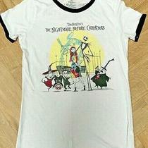 Tim Burton's Nightmare Before Christmas Disney Halloween Town Tour T Shirt Size  Photo