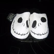 Tim Burton's the Nightmare Before Christmas House Slippers Small 5-6 New/free Photo