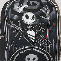 Tim Burton's the Nightmare Before Christmas Jack Skellington Backpack Disney Photo