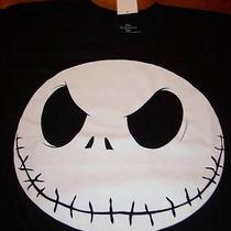 Tim Burton's the Nightmare Before Christmas Jack T-Shirt Medium New W/ Tag Photo