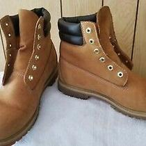 Timberland 6 in Womens Boots Size 10m Brown Leather Photo