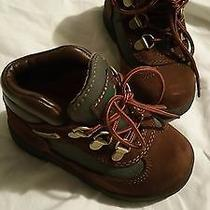 Timberland Baby Infant Boy's Boots Size 8 Photo