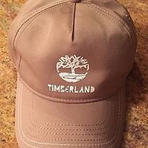 Timberland Baseball Cap Hat Snapback Adjustable in Khaki. Nwt Retail 25 Photo