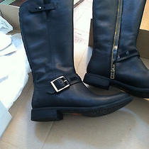 Timberland Black Savin Hil Women's Boots Size 11 Leather Like New Never Worn Photo