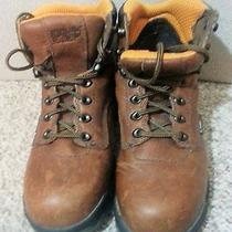 Timberland Boots Men/boys Size 6.5 Timberlands  Free Shipping Brown Photo