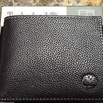 Timberland Brown Leather Wallet Brand New in Box Photo