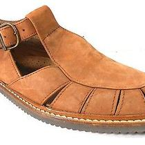 Timberland Brown Suede Leather Fisherman Sandals Buckle Womens 9.5 M 400499 Photo