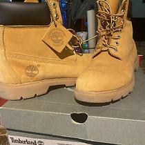 Timberland Classic 6 in Waterproof Boot (Wheat Nubuck) - Mens Size 8.5  Photo