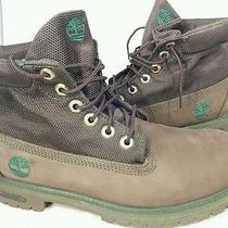 Timberland Classic Brown Leather  Rugged Work Hiking Boot Youth 6 Women's 8 Photo