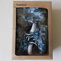 Timberland Crib Booties Baby Shoes and Skull Cap-Gift Set in Box Size 1 Photo