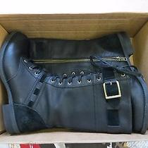 Timberland Earthkeepers Savin Hill Mid Womens Us Size 8 Black Leather Boots Photo