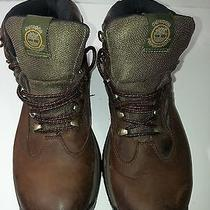 Timberland Gore-Tex Men's Brown  Leather Waterproof  Hiking Boots Pre-Owned Photo