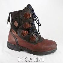 Timberland Heavy Duty Leather Waterproof Insulated Winter Trekking Boots Mens 11 Photo