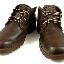 Timberland Hiking Boots Brown Leather Ankle Trail Shoes Womens Size 8.5 M Photo