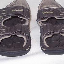 Timberland Light Brown Sandals Childrens Size 1 Photo