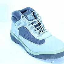 Timberland Light Dark Grey Leather Hiking Boots Womens 8 M 13388 Lace Up Vguc  Photo