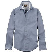 Timberland Men's Earthkeepers Clarendon River Houndstooth Shirt Style 6727j Photo