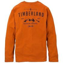 Timberland Men's Long Sleeve Outdoors Back Print Tshirt Style 5725j Photo